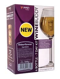 Wine Buddy Elderflower 6 bottle 7 day wine kit