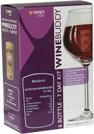 Wine Buddy Blackberry 6 bottle 7 day wine kit