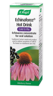 A Vogel Echinaforce Hot Drink Cold & Flu 100ml Echinacea Oral Solution
