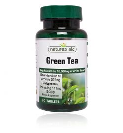 Natures Aid Green Tea 10,000mg 60 VEGAN 1 a day tablets