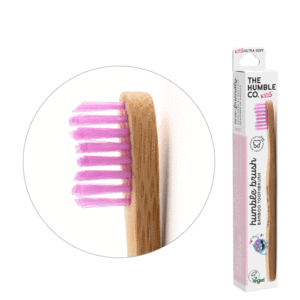 Humble Kids Soft Bamboo Tooth Brush (choose your colour)