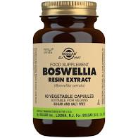Solgar SFP Boswellia Resin Extract 60 Vegetable Capsules