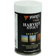 Youngs Harvest Stout 30 pint 1.5kg beer home brew beer making kit