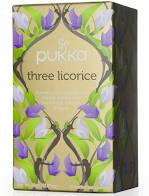 Pukka Three Licorice herbal tea 20 bags sachets