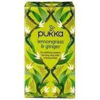 Pukka Lemongrass & Ginger Herbal Tea 20 bags