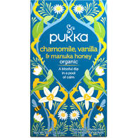 Pukka Chamomile, Vanilla & Manuka Honey Herbal Tea 20 bags