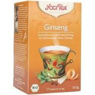 Yogi Organic Tao Tea Ginseng Flower 17 bags with lemon grass & peppermint