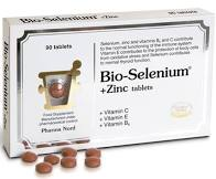 PHARMA NORD Bio-Selenium 100mcg + Zinc 15mg for immune system & thyroid 90 tabs