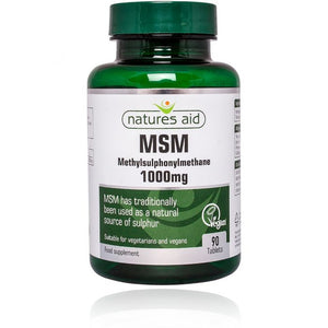 Natures Aid MSM 1000mg 90Tabs