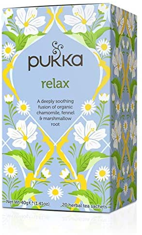 Pukka Relax - Chamomile, Fennel & Marshmallow Root 20 herbal bags