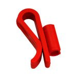 RED SYPHON CLIP - RIGID TUBE