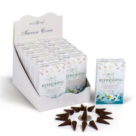 Incense Cones Pack of 15 Refreshing