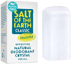 Plastic Free Salt of The Earth Deodorant Stick