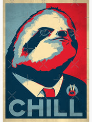 Vote For Sloth 2020 Poster