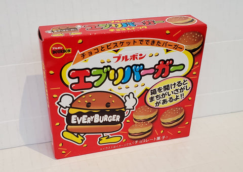 Bourbon every burger choco cookies 百邦迷你漢堡朱古力餅