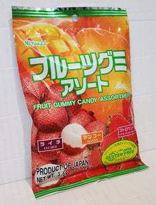 Kasugai fruit assorted fruit gummy 日本春日井果汁什味軟糖
