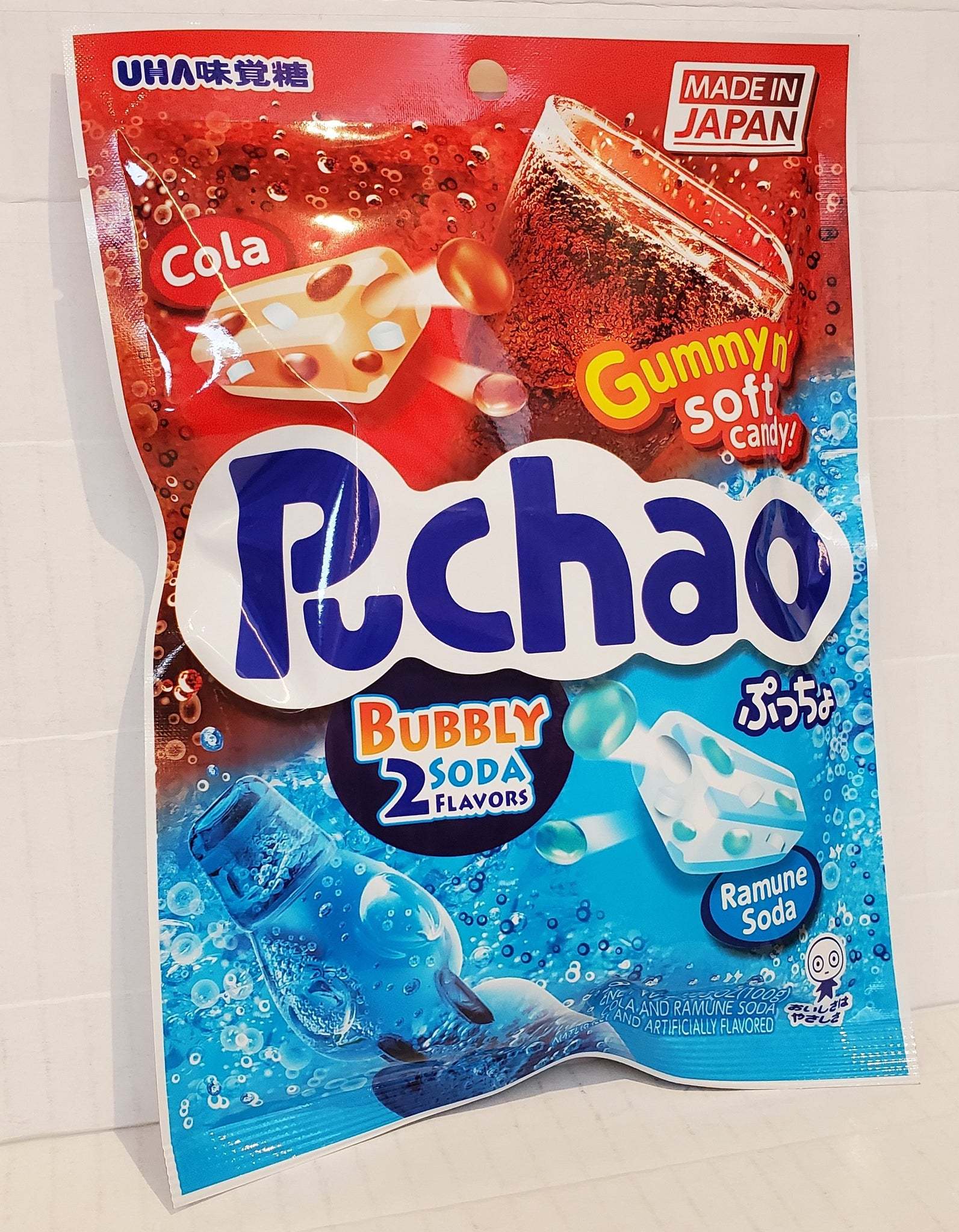 UHA puccho bubbly soda chewy candy 味覺糖超口感汽水軟糖