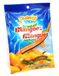 Philippine dried mangoes 菲律賓芒果乾