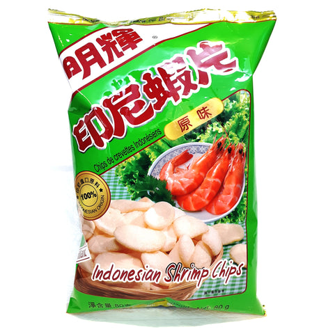 *Brilliant Indonesian shrimp chips 印尼明輝蝦片