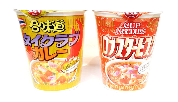 Nissin cup noodle (Limited Edition) 日清合味道杯麵 (期間限定)
