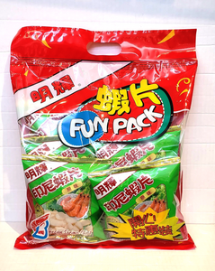 Brilliant Indonesian shrimp chips (fun pack) 印尼明輝蝦片 (開心特惠裝)
