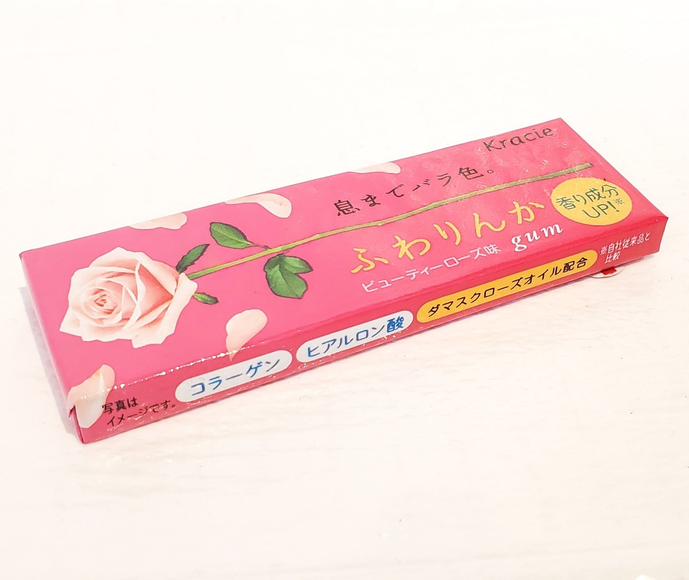 Kracie beauty rose chewing gum