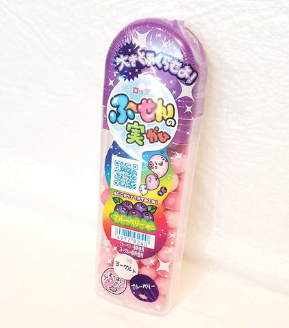 Lotte fusen no mi blueberry bubble gum