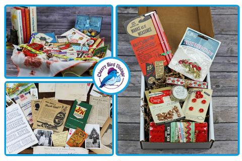 Cheery Bird Vintage subscription boxes