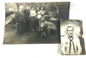 Vintage photos in subscription box