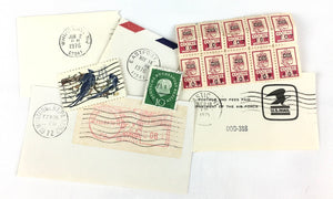 vintage stamps for subscription box contents