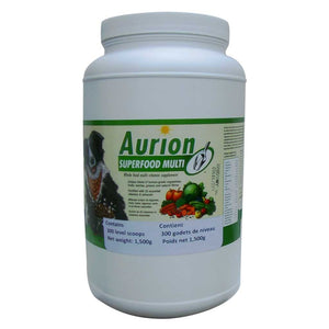 AURION SUPERFOOD MULTI whole food multivitamin - breeder size - 1500g
