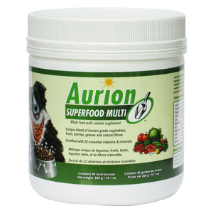 AURION SUPERFOOD MULTI whole food multivitamin - 200g