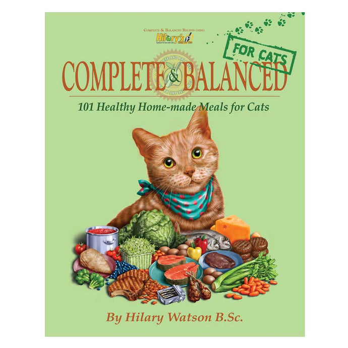COMPLETE & BALANCED FOR CATS cookbook by Hilary Watson