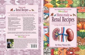 Home-made Renal Recipes cookbook by Hilary Watson