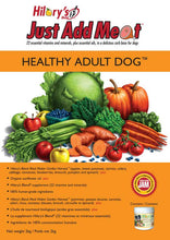 Load image into Gallery viewer, HILARY'S BLEND JUST ADD MEAT (JAM) - Healthy Adult Dog - 2kg