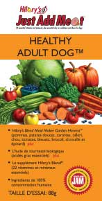 HILARY'S BLEND JUST ADD MEAT (JAM) - Healthy Adult Dog - 88g trial size