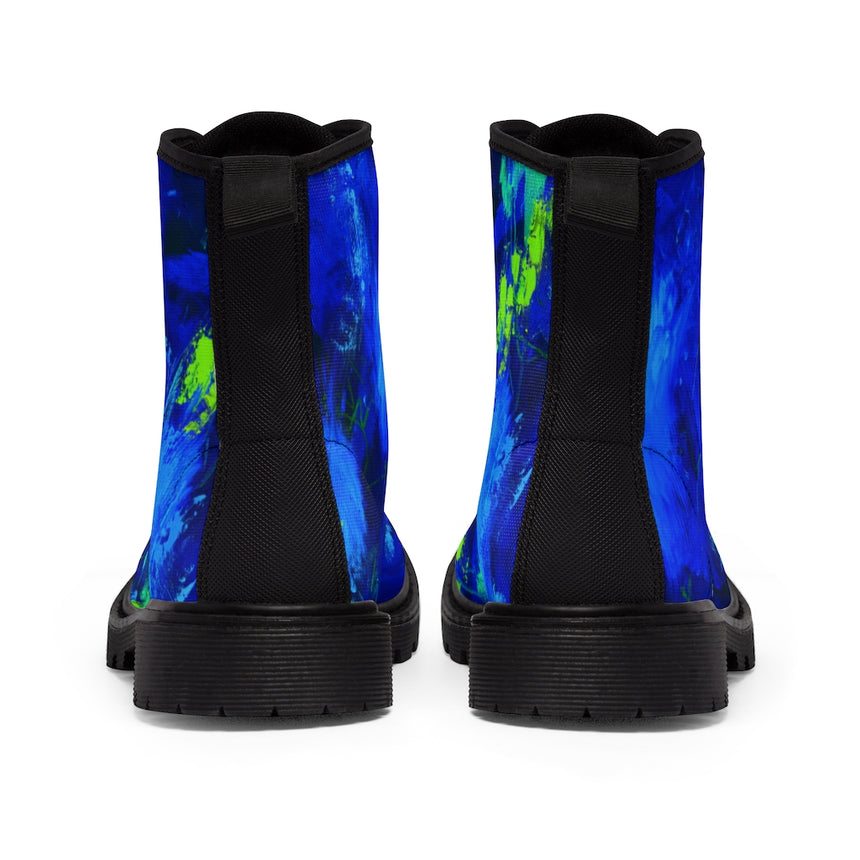 Women's Art Boots - Just Keep Swimming