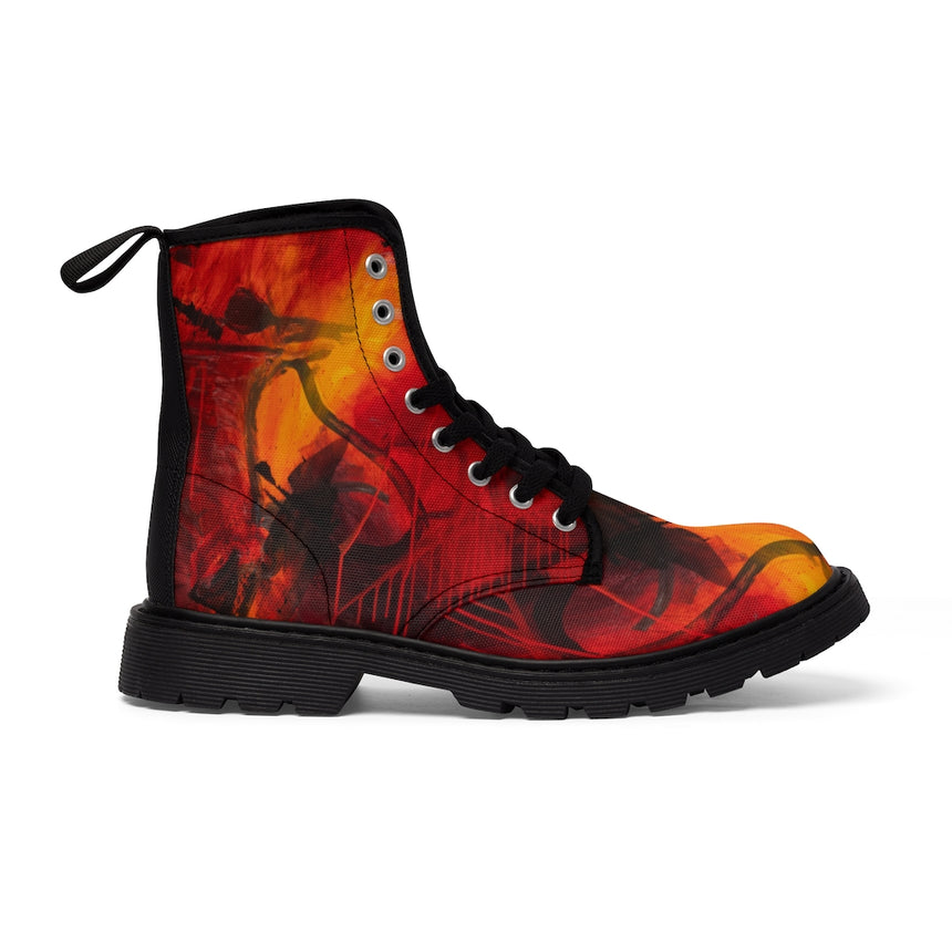 Women's Art Boots - Turmoil