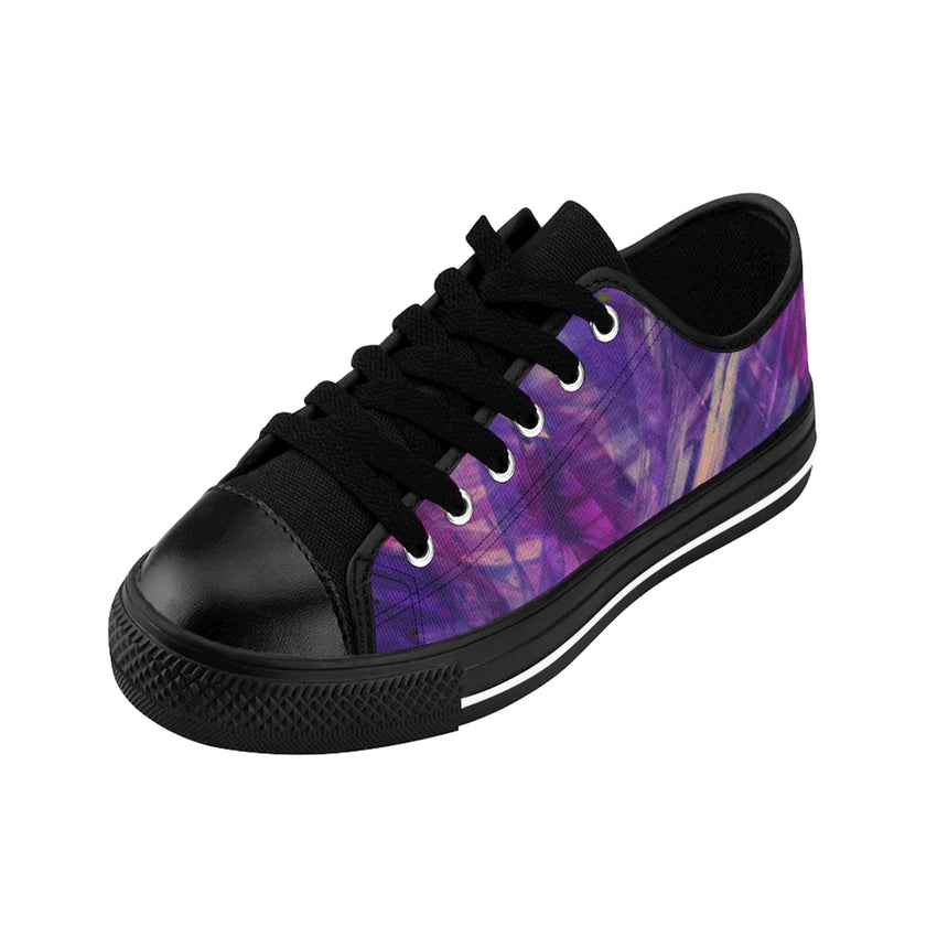 Women's Art Sneakers - Violet Energy