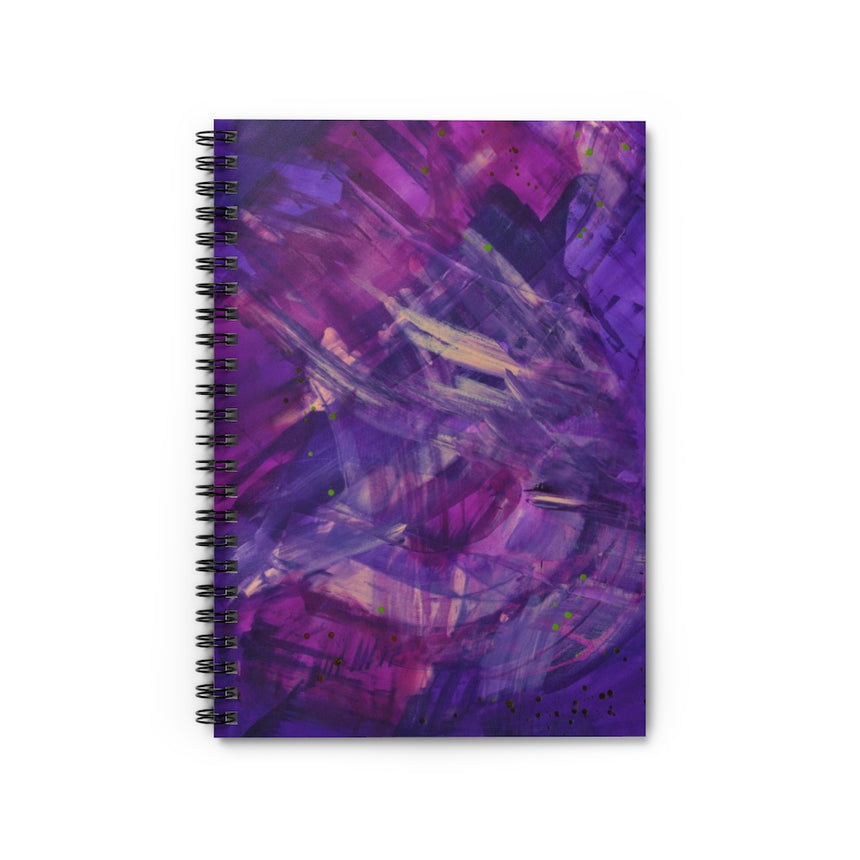 Spiral Notebook - Ruled Line - Intersections