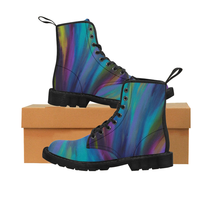 Women's Art Boots - Northern Lights