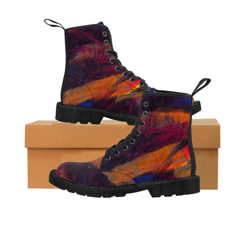 Women's Art Boots - Torn