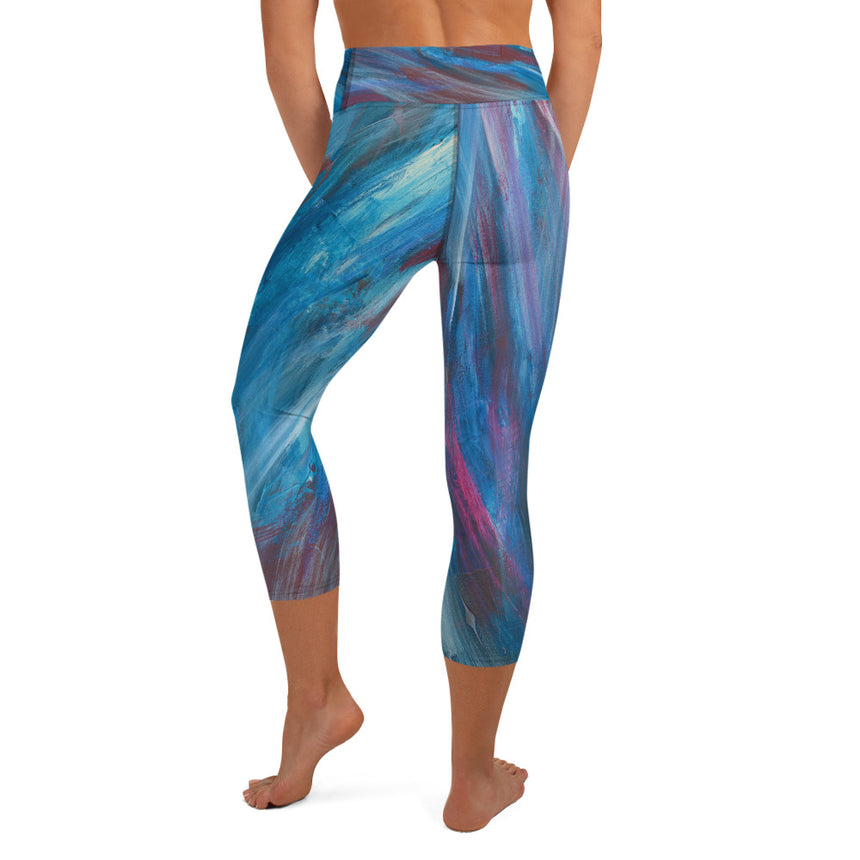 Capri Leggings - Music Takes Flight
