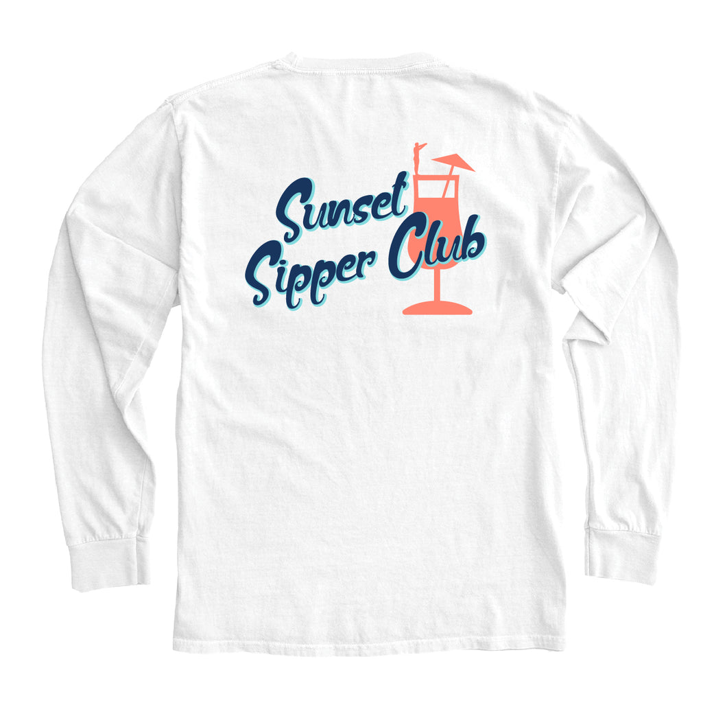 Sunset Sipper Club Long Sleeve