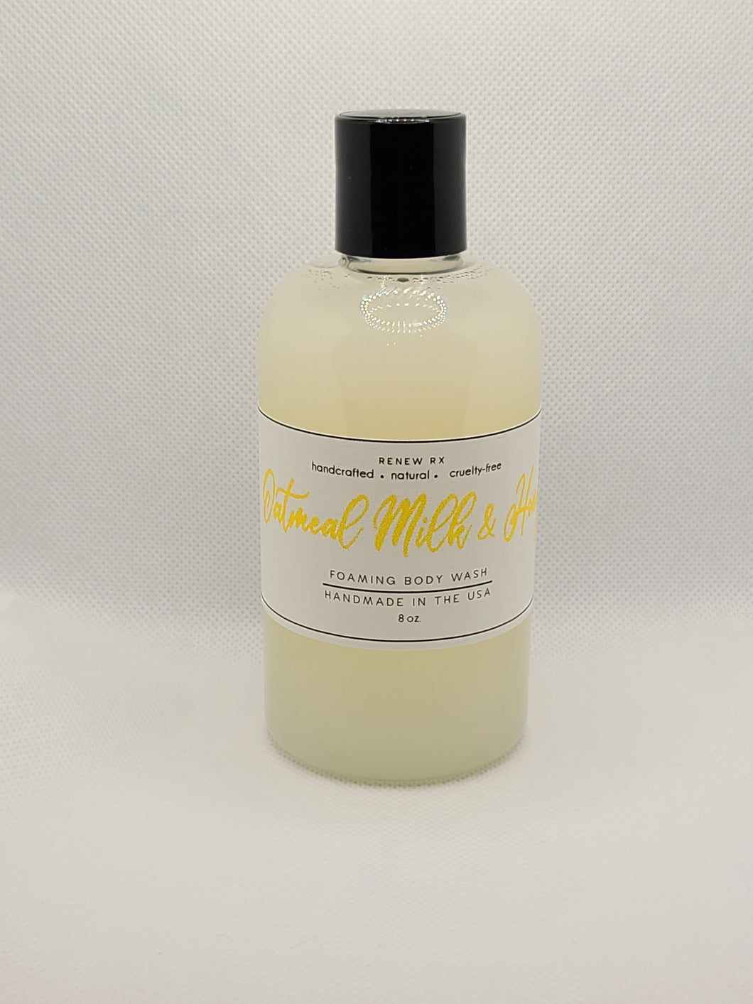 Oatmeal Milk and Honey Foaming Body Wash