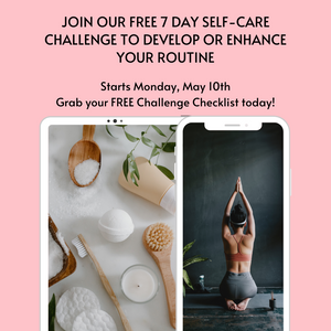 FREE Self-Care Challenge Checklist