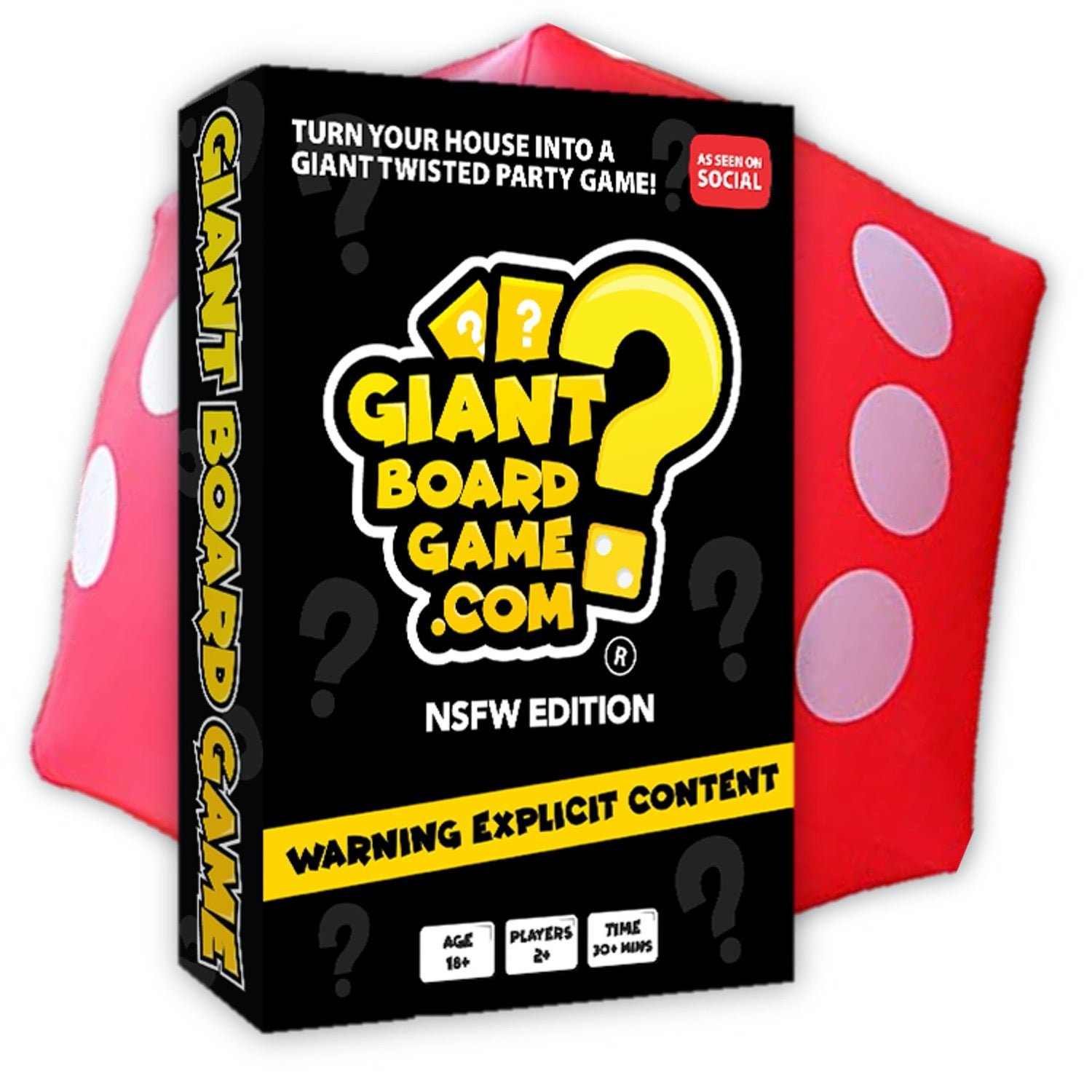 Giant Board Game NSFW Edition 18+