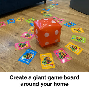 Giant Board Game Age 10+ and Giant Dice