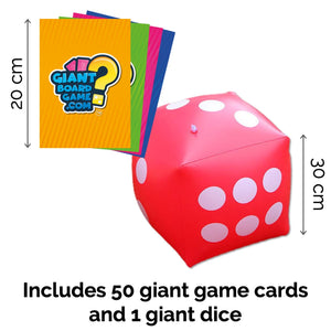 Giant Board Game Age 5+ and Giant Dice