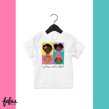 Load image into Gallery viewer, 4 Brown Girls Baby Tee